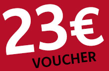 Guaranteed no conspiracy:<br />Here is your 23, -EUR voucher!